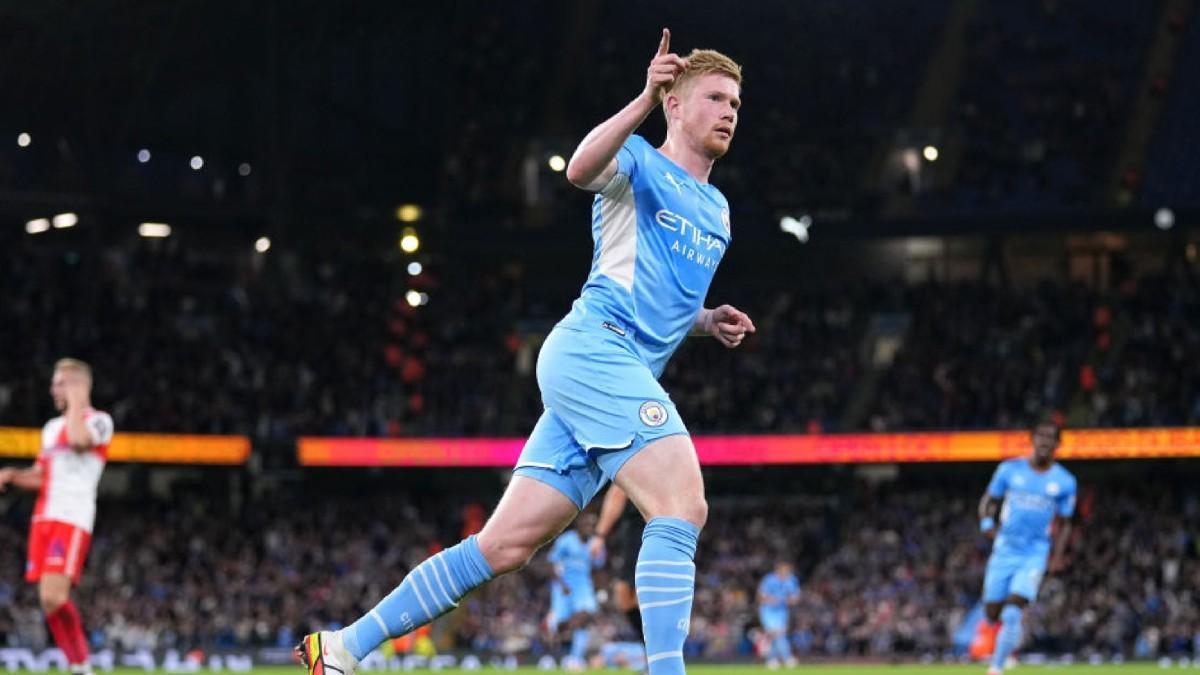 De Bruyne volvió a ver puerta con el Manchester City