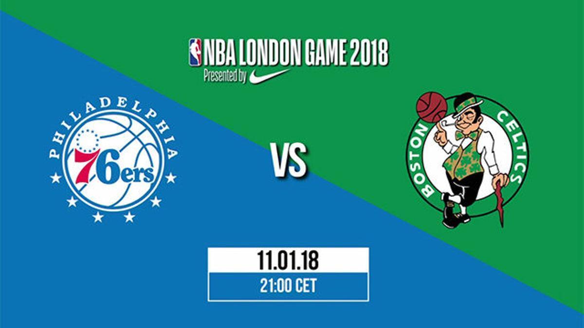 NBA VIDEO | Boston Celtics y Philadelphia 76ers se verán las caras en Londres