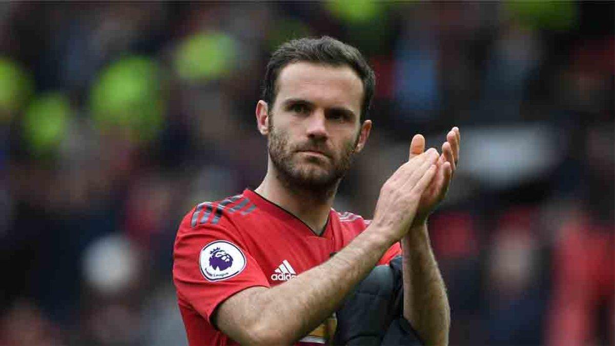 Juan Mata quiere jugar en el Barça