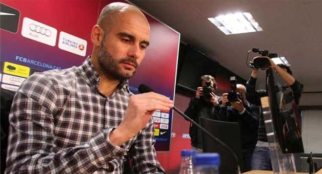 Guardiola habló largo y tendido sobre el Madrid-Barça