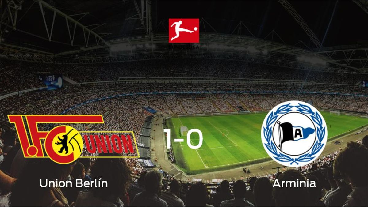 El Union Berlín aprovecha la segunda parte para ganar al Arminia Bielefeld (1-0)