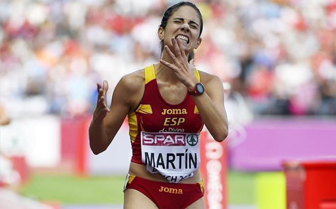 Diana Martín solo pudo ser 12ª en la primera serie de 3.000 metros obstáculos