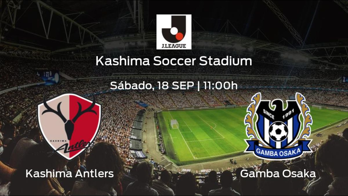 Previa del encuentro de la jornada 29: Kashima Antlers - Gamba Osaka