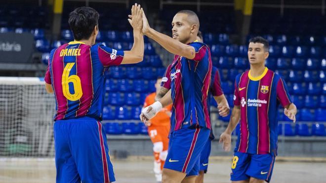 El Barça ofreció una buena imagen el pasado jueves en su victoria ante Palma Futsal