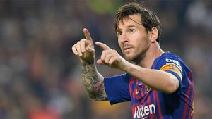 Messi, la novedad en el once del Barça
