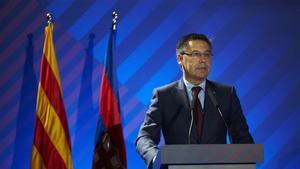 El presidente del FC Barcelona, Josap Maria Bartomeu