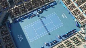 La sede de tenis será el Centro de Tenis de Ariake