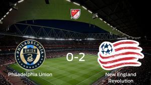 El New England Revolution supera al Philadelphia Union en la Primera Ronda (0-2)