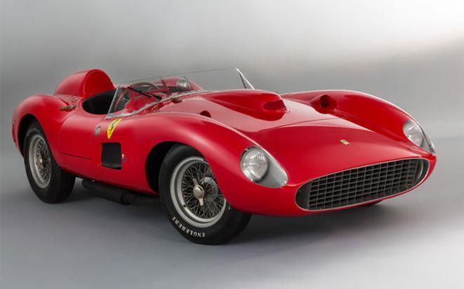 Este es el Ferrari 335 S Spider Scaglietti por el que Messi podía haber pagado 32 millones de euros