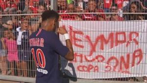 La venganza del Neymar más llorón