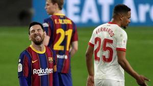 El Barcelona no fue capaz de imponerse al Sevilla en el Sánchez-Pizjuán durante el partido de ida