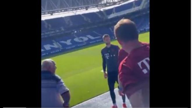 El Bayern, en el RCDE Stadium