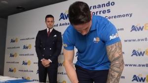 El increíble cambio físico de Fernando Torres: Un espectacular tono muscular