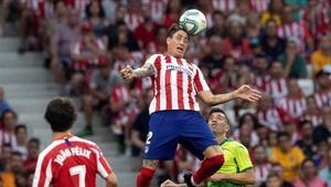 Giménez se lesionó contra el Bayer Leverkusen