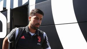 Sami Khedira ya mostró su deseo de jugar en la Premier League