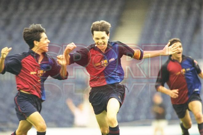 9. Andrés Iniesta 1999-2000