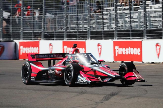 Àlex Palou, rookie destacado en la Indycar