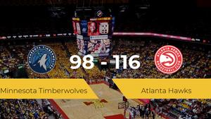 Victoria de Atlanta Hawks ante Minnesota Timberwolves por 98-116