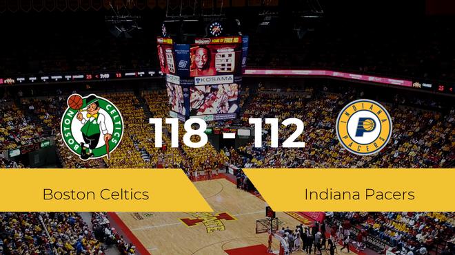 Boston Celtics gana a Indiana Pacers (118-112)