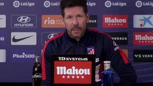 Simeone: Suárez demuestra en el campo lo que me transmitió por teléfono