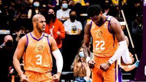 Phoenix empató la serie ante los Lakers.