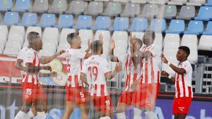 El resumen de la victoria del Almería ante el Logroñés