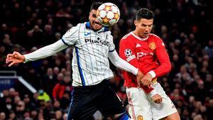 Cristiano Ronaldo cerró la remontada ante la Atalanta
