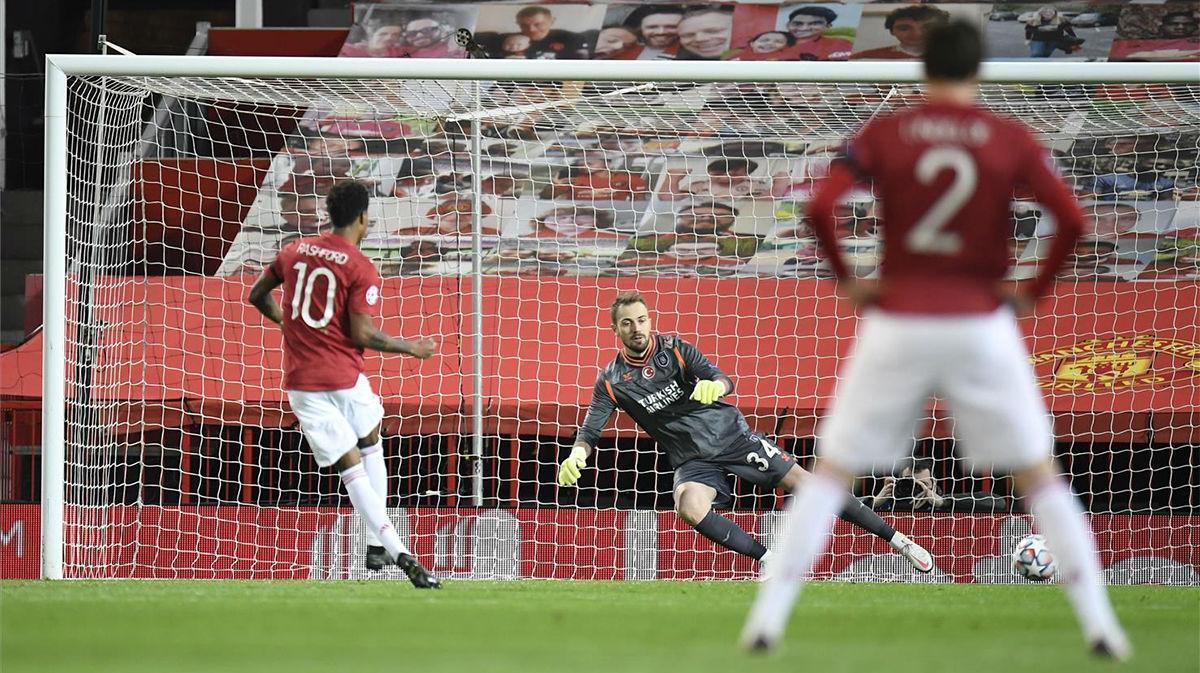 El gol de Rashford al Istanbul