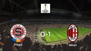 El AC Milan vence 0-1 al Sparta Praga en el Generali Arena