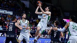 Guillem Vives jugó un gran partido en Tenerife