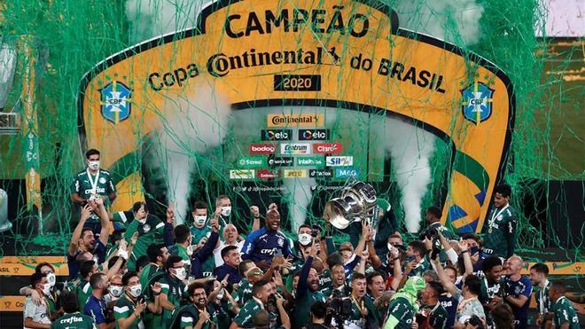 El Palmeiras termina la temporada ganando la Copa do Brasil