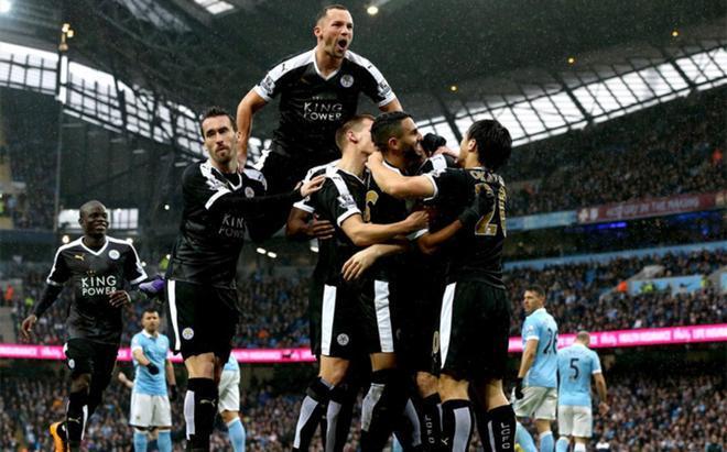 Los jugadores del Leicester son una piña