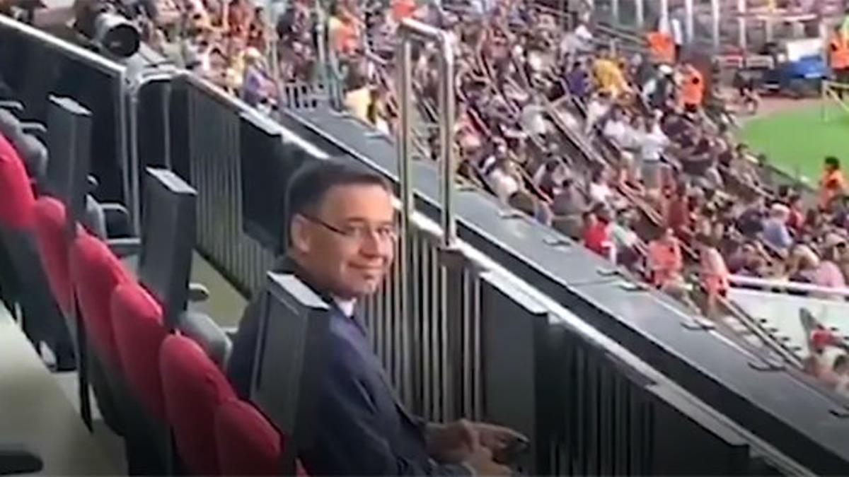 La impagable reacción de Bartomeu cuando le preguntan por Neymar