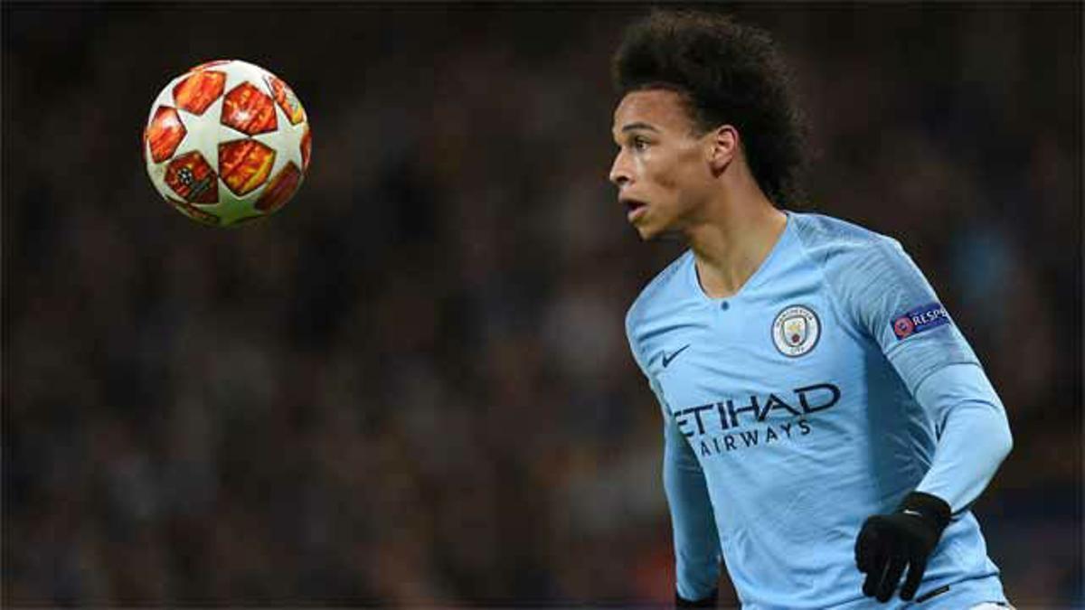 Sané brilló en la contundente victoria del Manchester City frente al Schalke