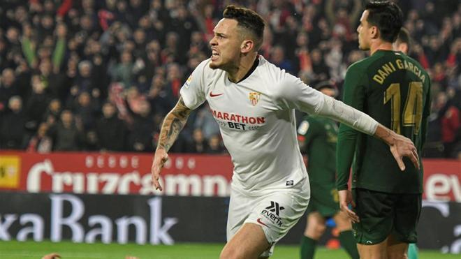 Ocampos y el Sevilla, a por todas
