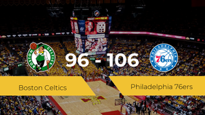 Philadelphia 76ers se impone por 96-106 frente a Boston Celtics