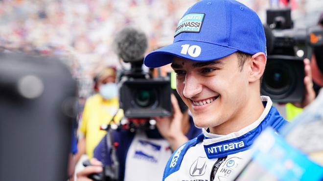 Alex Palou, líder la IndyCar