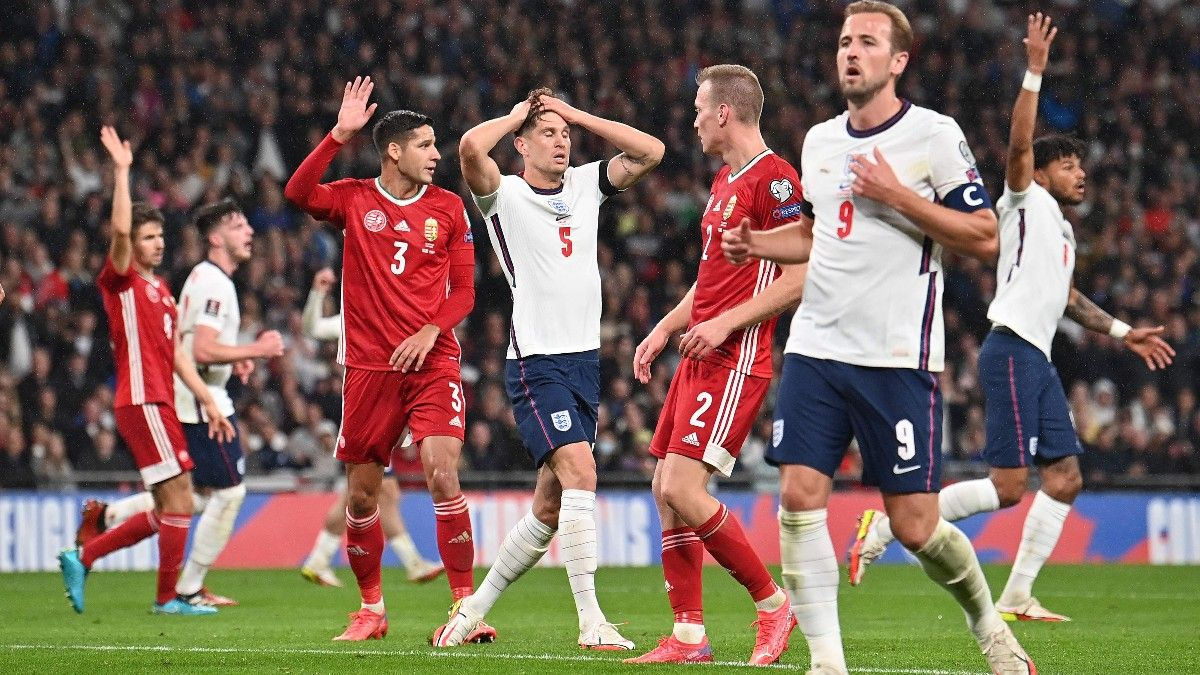 Inglaterra no estuvo acertada ante Hungría