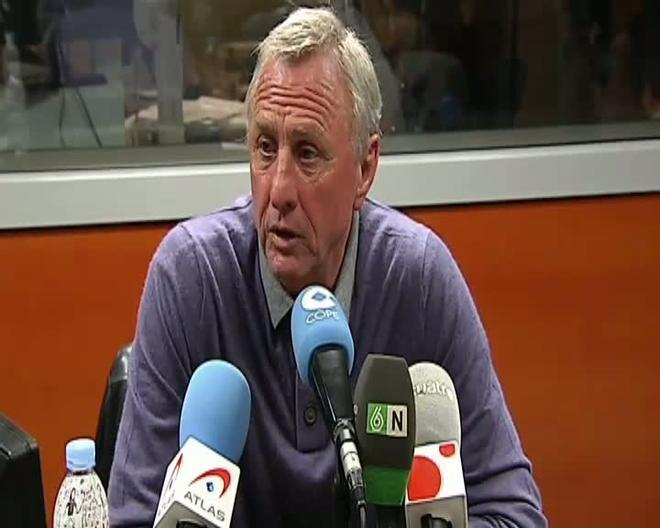 Cruyff repasó el momento actual del Barça