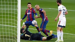 El Barça visita a un Osasuna al que goleó en el Camp Nou