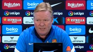 Koeman: Queremos que Dembélé se quede, es un jugador importante