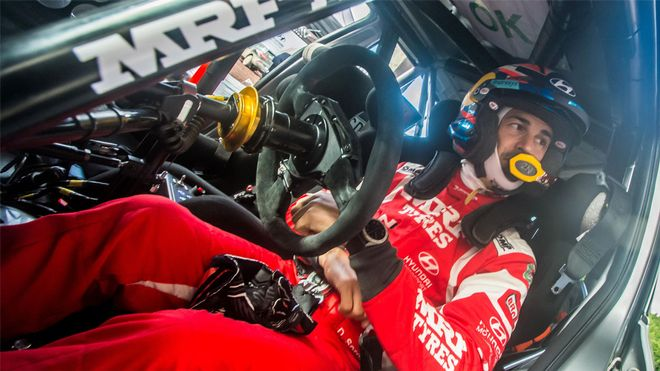 Dani Sordo se estrena en el Rally Azores del Europeo