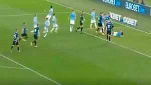 Goles, tanganas y vaciles... Así fue el tenso partido entre la Lazio y el Inter del que todo el mundo habla