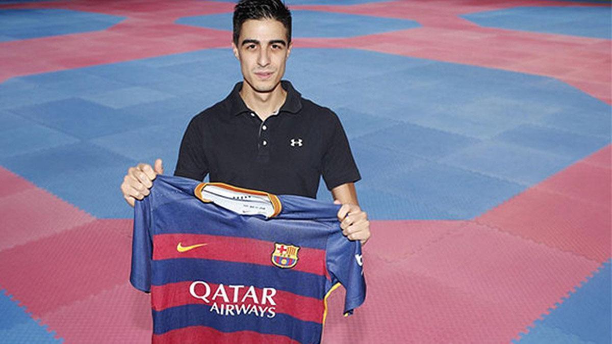 Joel González, feliz con la propuesta del Barça