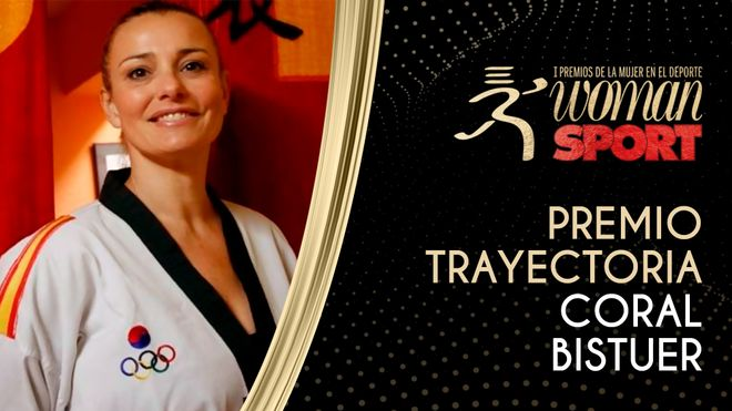 Premio Trayectoria: Coral Bistuer, una vida dedicada al taekwondo
