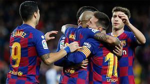 Messi guía al Barça para golear al Alavés y cerrar el año líderes