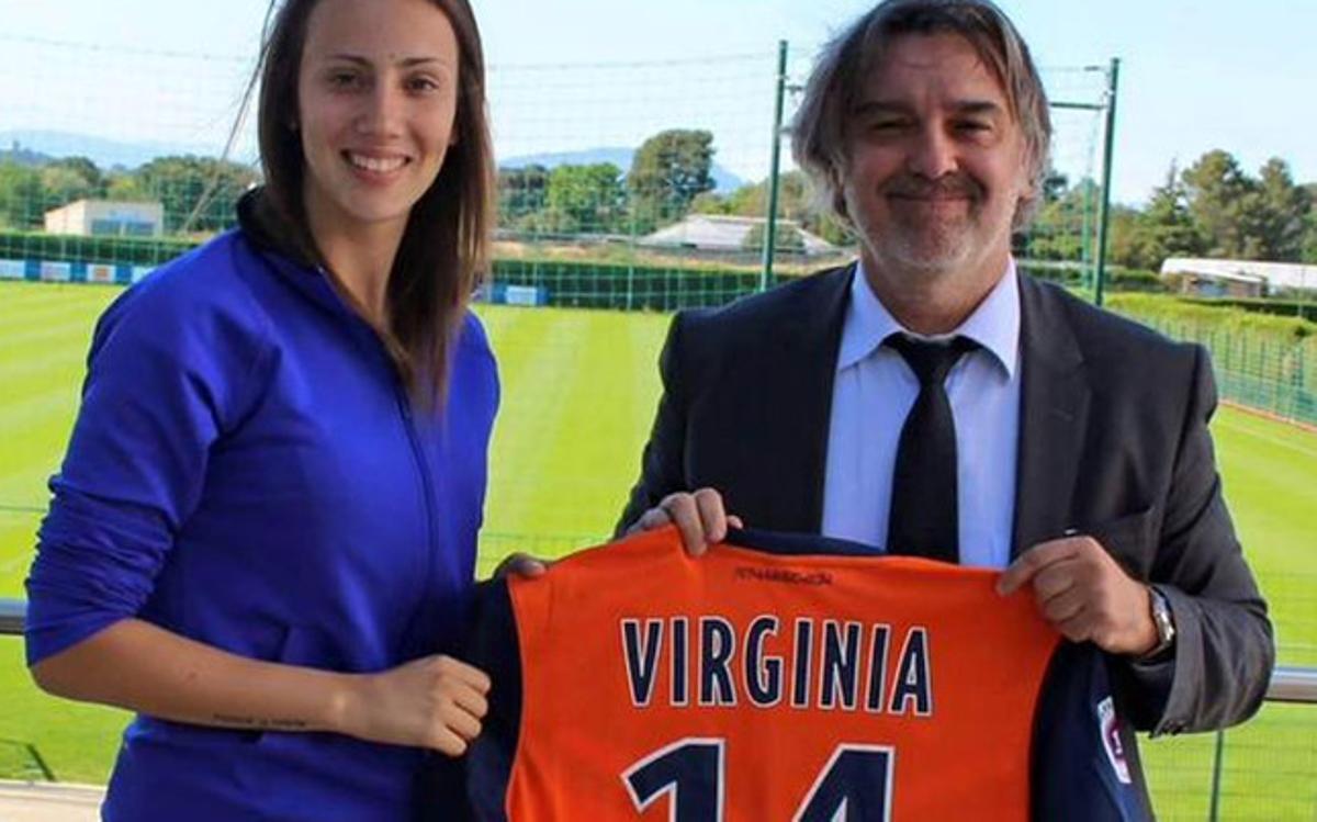 Virginia Torrecilla ficha por el Montpellier   barca   sport.es
