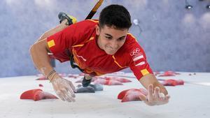 Alberto Ginés durante los Juegos Olímpicos de Tokio 2020