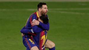 El once del Barça ante el Celta