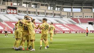Los goles en Las Gaunas fueron del Girona: El resumen de la victoria de los catalanes ante el Logroñés